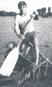 Patzaichin beim Training für die Olympischen Spiele 1972 in München