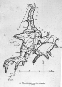 Das Burzenland (ursprüngliche Quelle unbekannt, Bild im Diabestand der HG Heldsdorf)